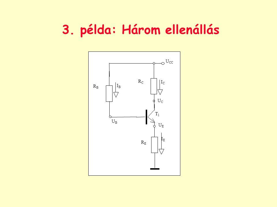 3. példa: Három ellenállás