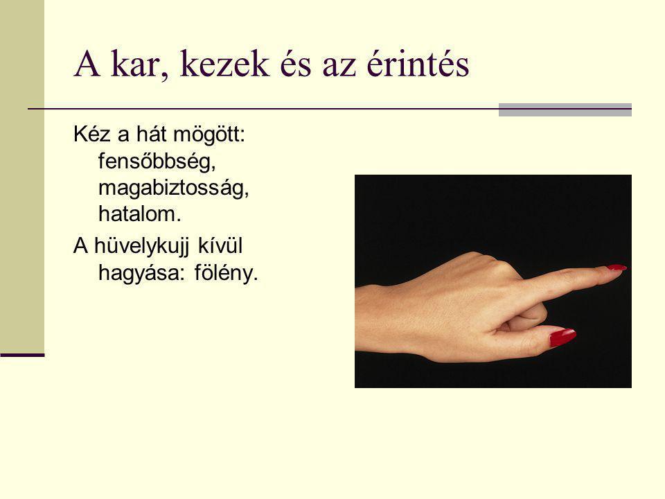 A kar, kezek és az érintés