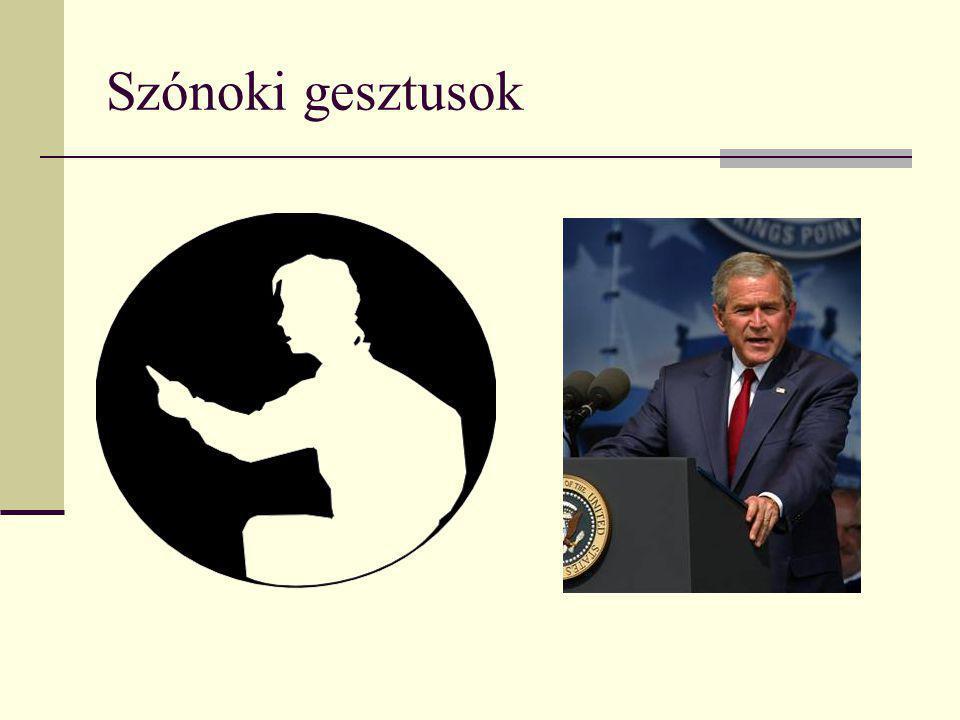 Szónoki gesztusok