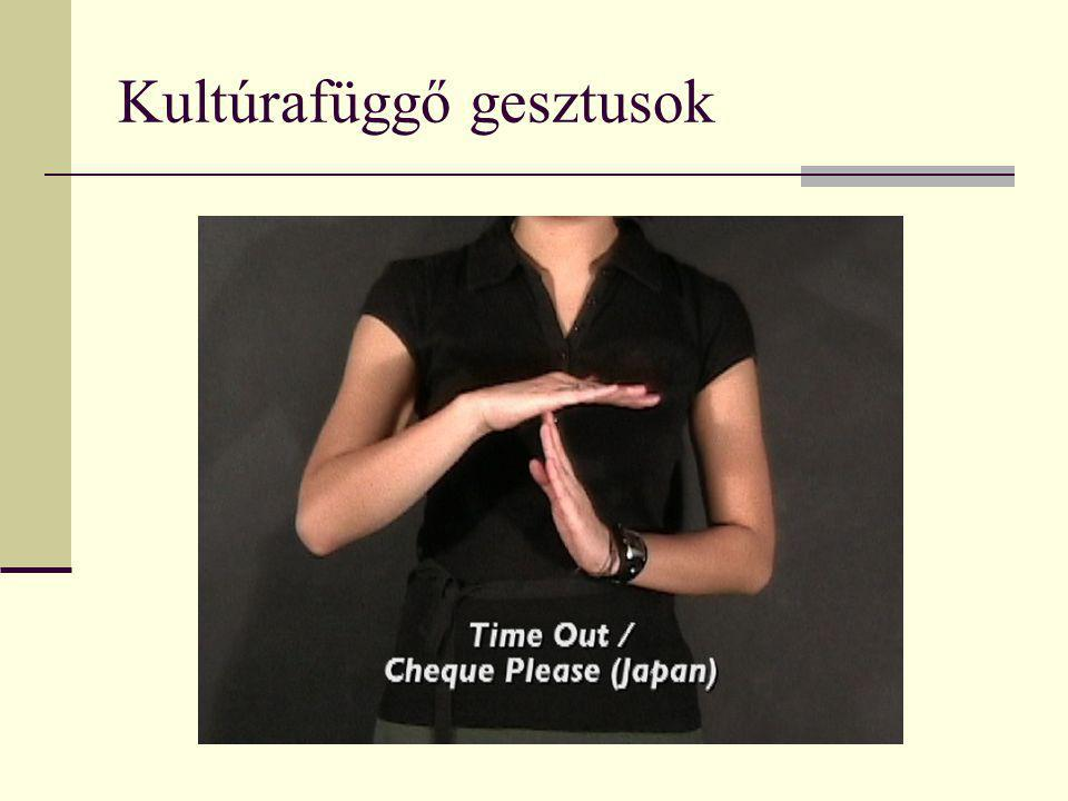 Kultúrafüggő gesztusok