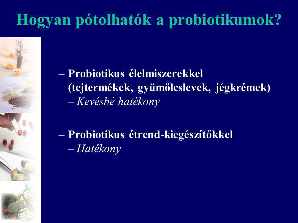 Hogyan pótolhatók a probiotikumok