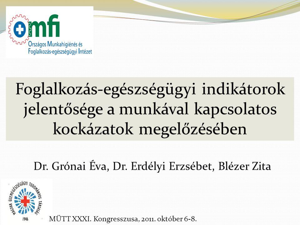 Dr. Grónai Éva, Dr. Erdélyi Erzsébet, Blézer Zita
