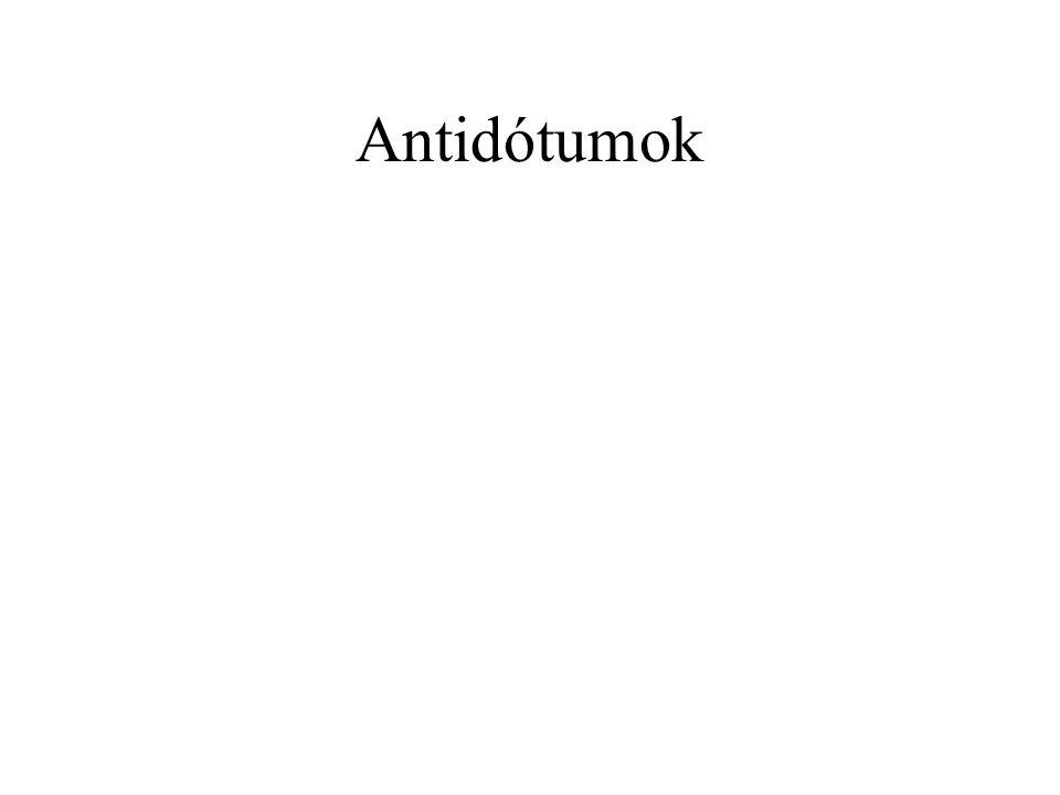 Antidótumok