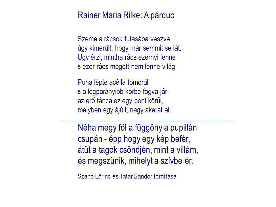 Rainer Maria Rilke: A párduc