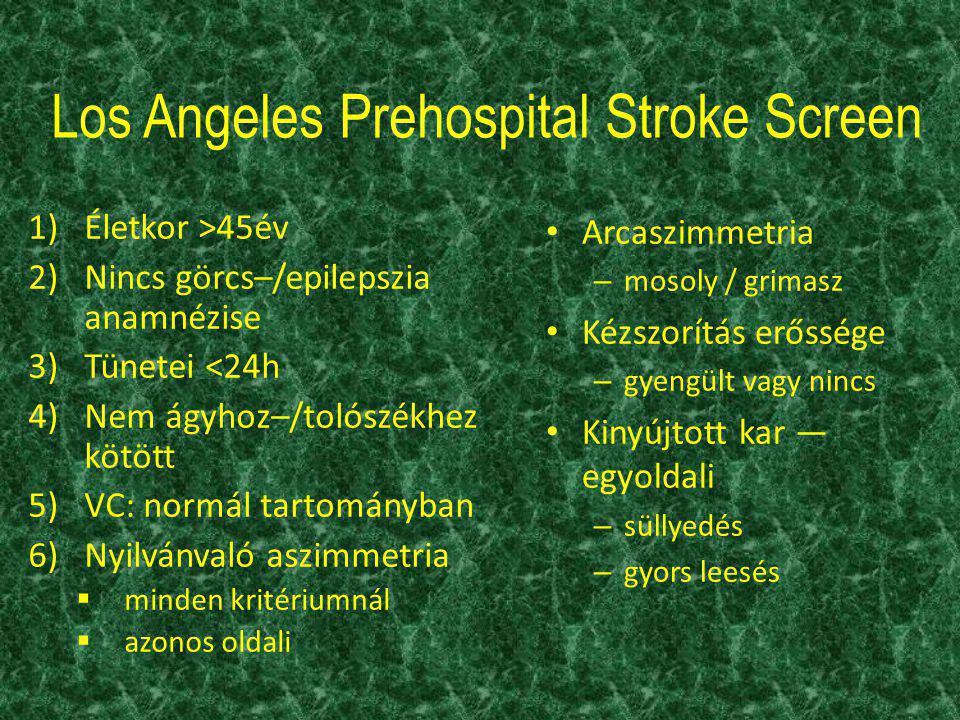 Los Angeles Prehospital Stroke Screen