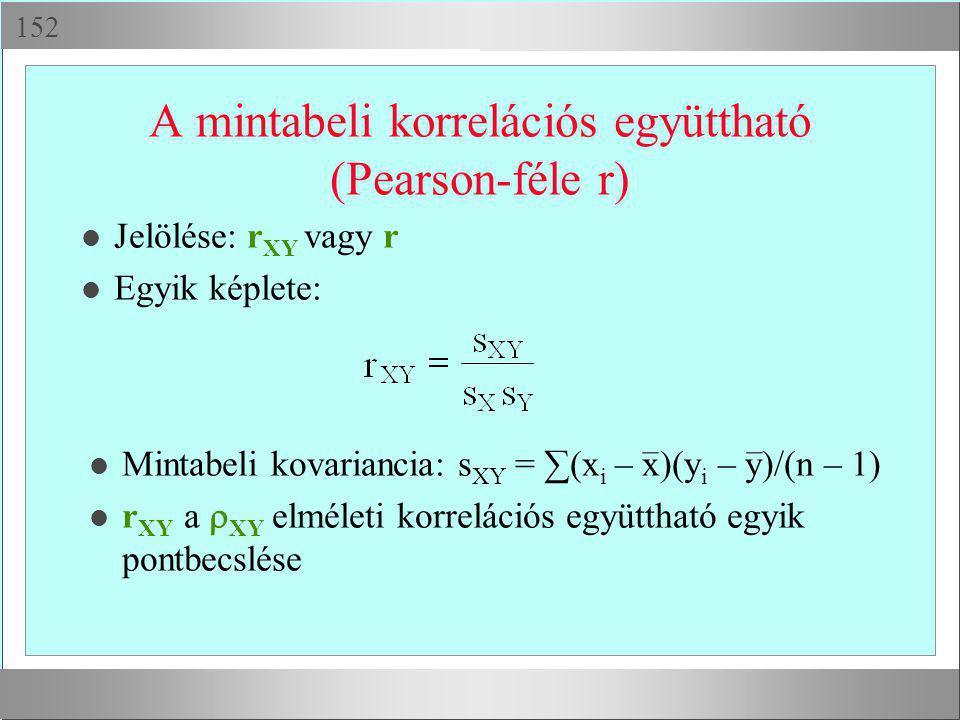 X-minta Statisztikai próba H0 H1 H2 Melyik az igaz