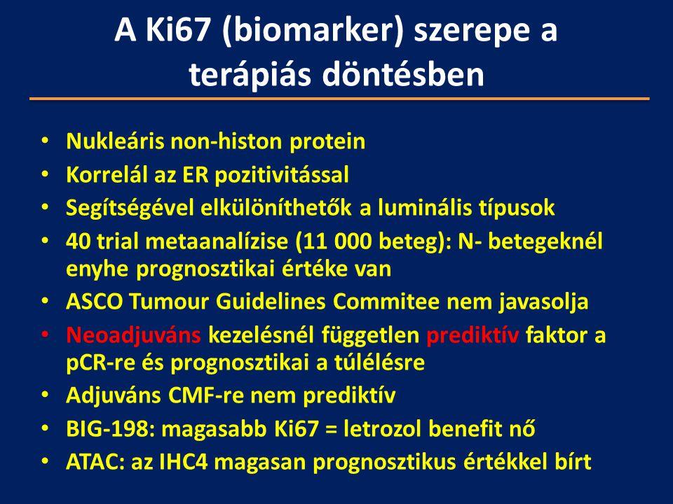 A Ki67 (biomarker) szerepe a terápiás döntésben