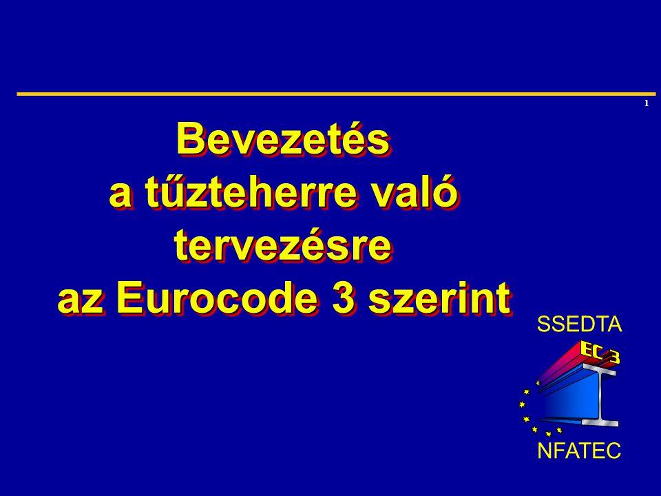 Bevezetés a tűzteherre való tervezésre az Eurocode 3 szerint