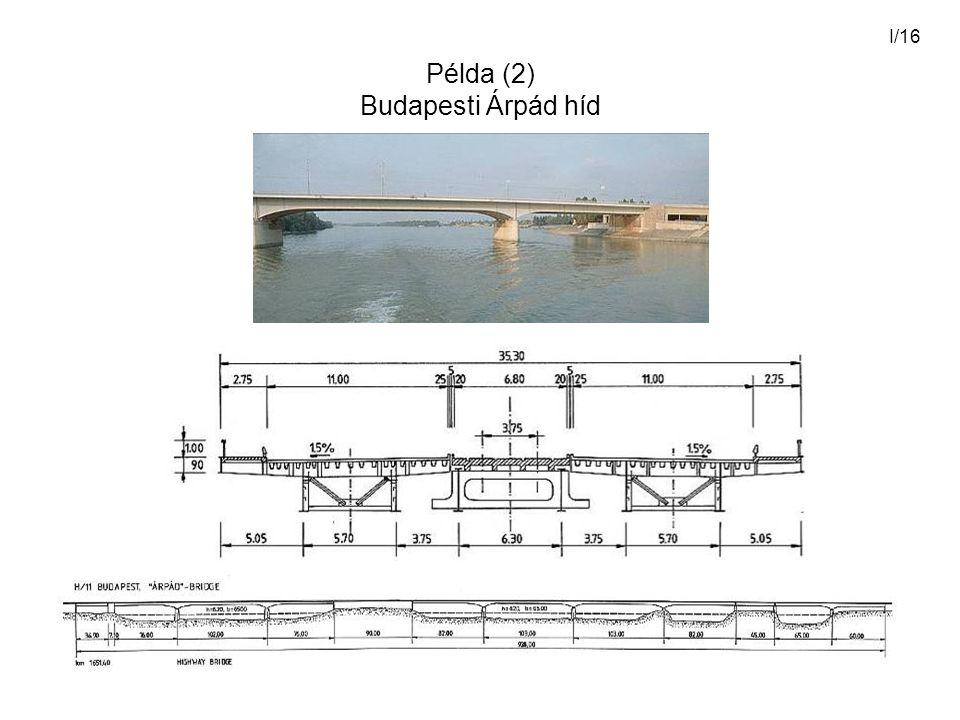Példa (2) Budapesti Árpád híd