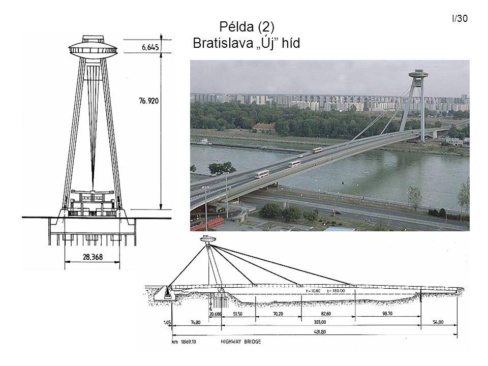 "Példa (2) Bratislava ""Új híd"