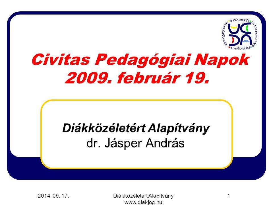 Civitas Pedagógiai Napok 2009. február 19.