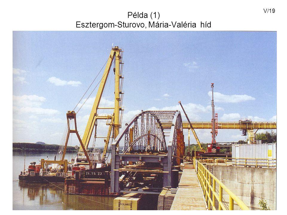 Példa (1) Esztergom-Sturovo, Mária-Valéria híd