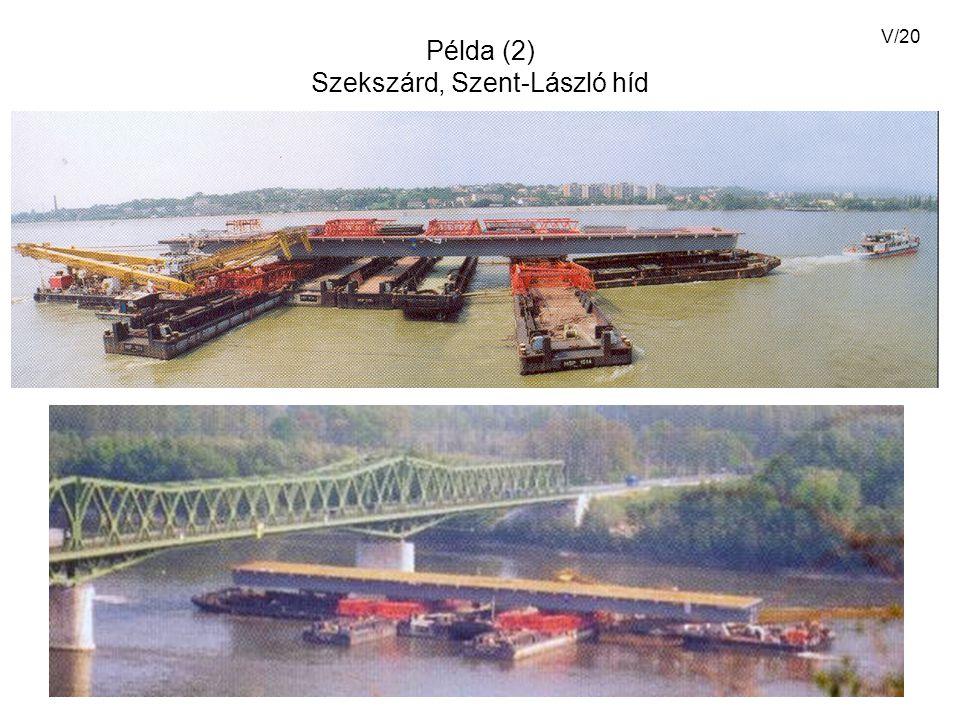 Példa (2) Szekszárd, Szent-László híd