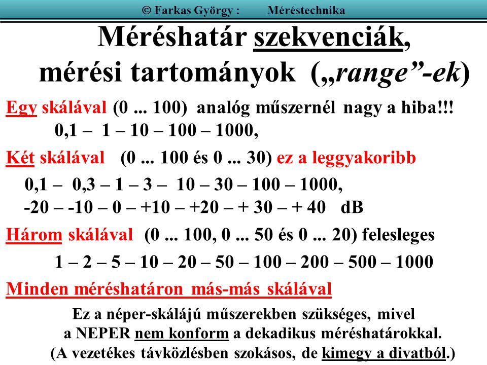 """Méréshatár szekvenciák, mérési tartományok (""""range -ek)"""