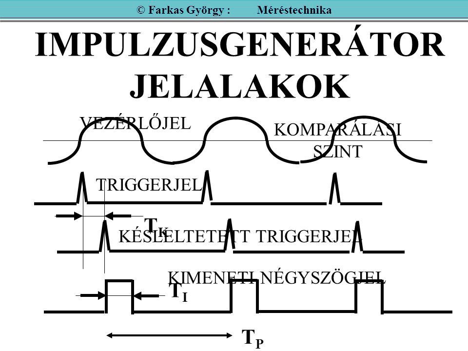 IMPULZUSGENERÁTOR JELALAKOK
