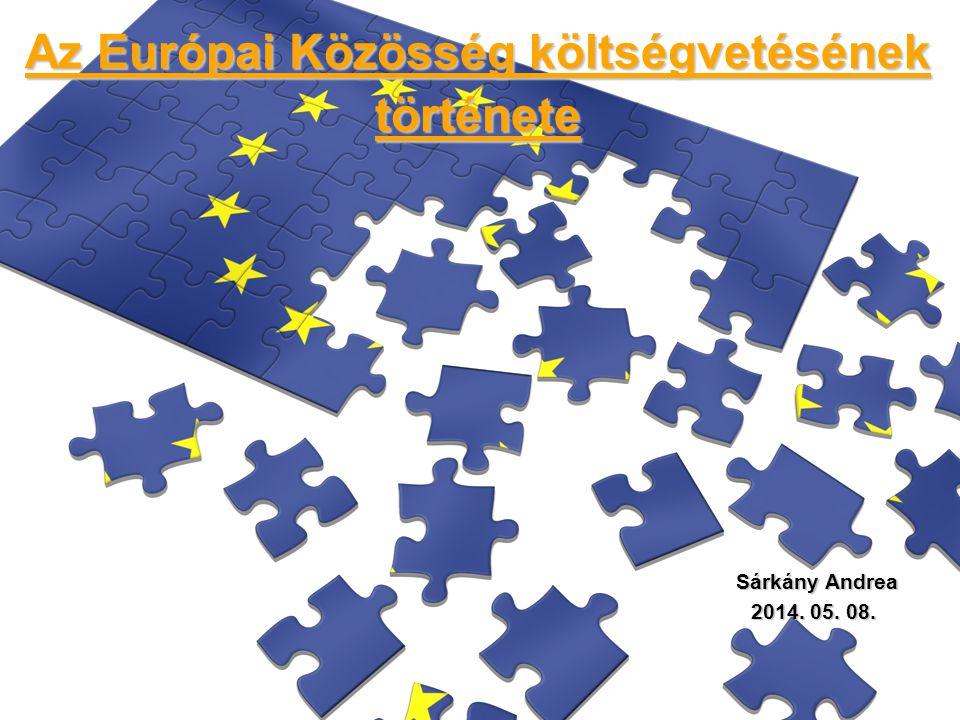 Az Európai Közösség költségvetésének története