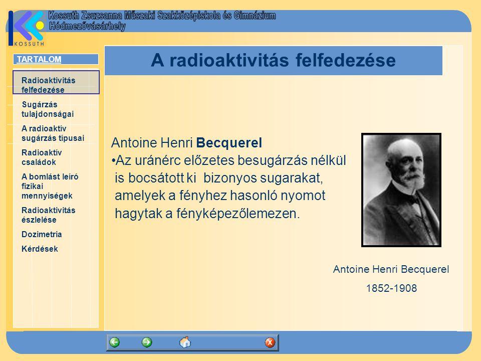 A radioaktivitás felfedezése