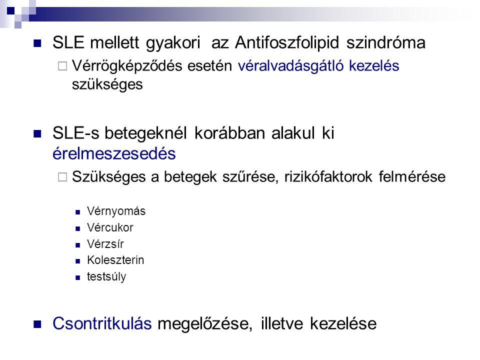 SLE mellett gyakori az Antifoszfolipid szindróma