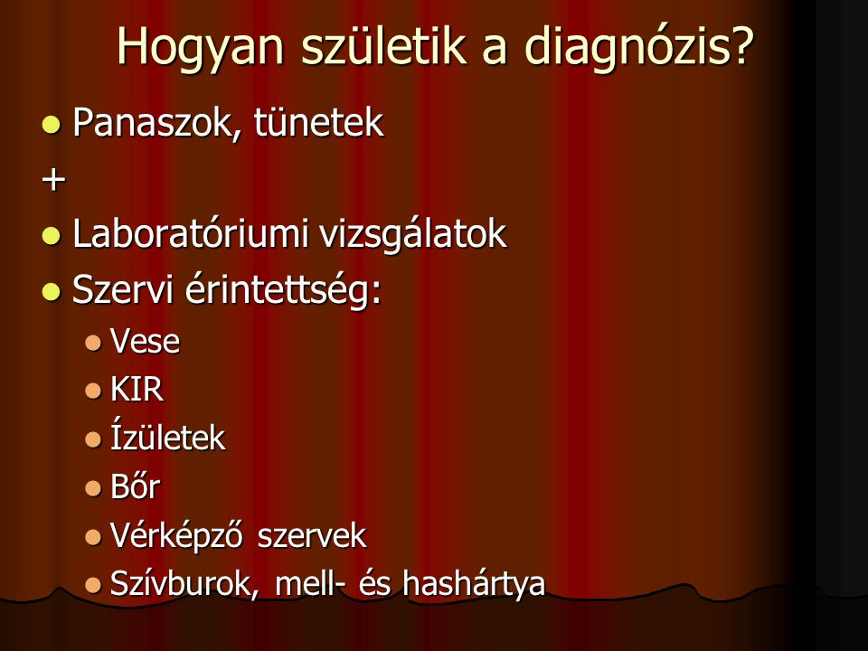 Hogyan születik a diagnózis