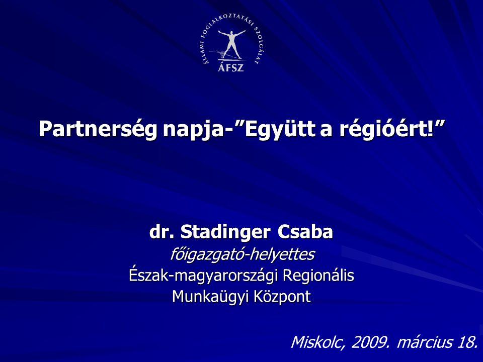 Partnerség napja- Együtt a régióért!