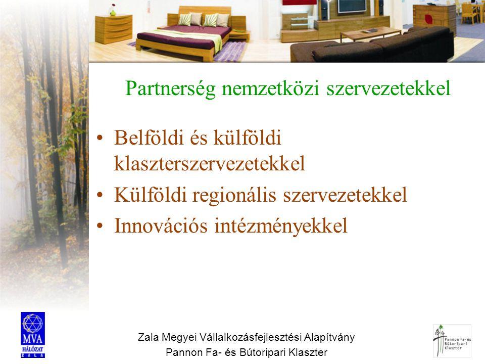 Partnerség nemzetközi szervezetekkel