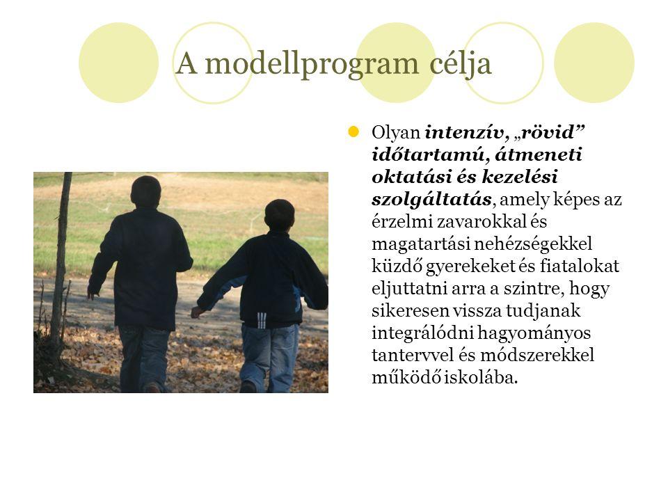A modellprogram célja