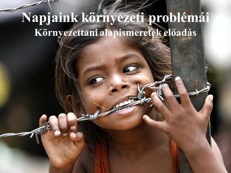 Napjaink környezeti problémái