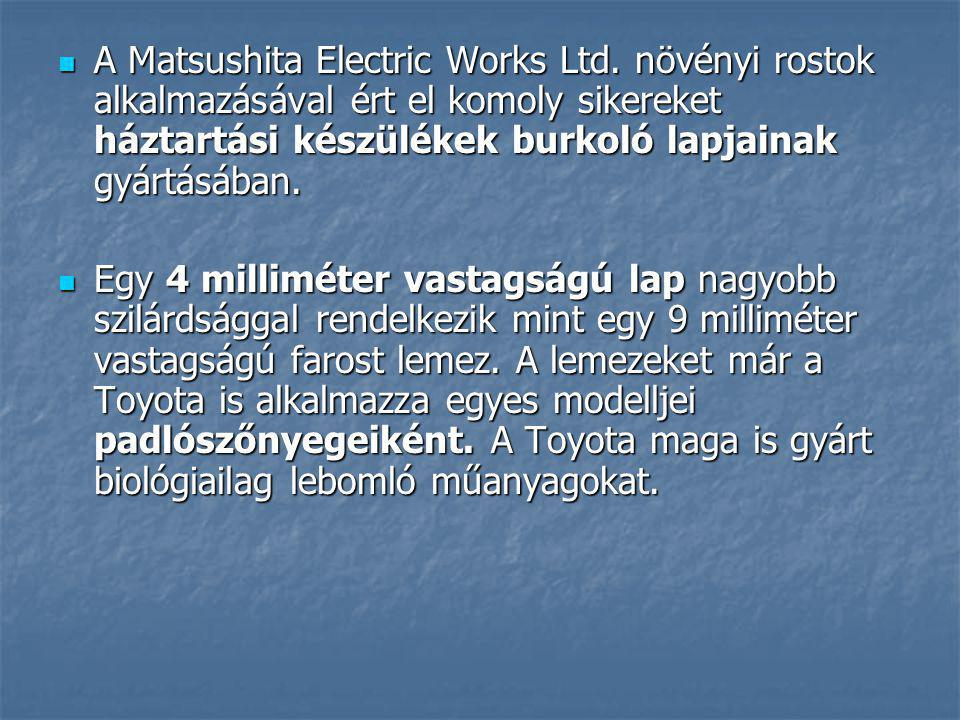 A Matsushita Electric Works Ltd
