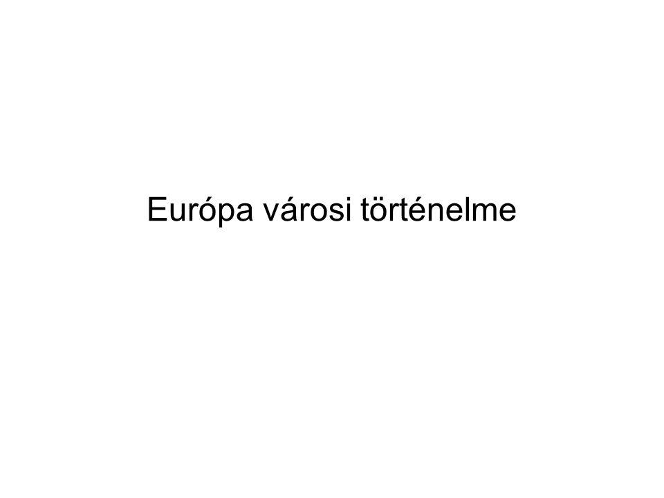 Európa városi történelme