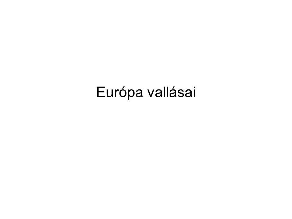 Európa vallásai