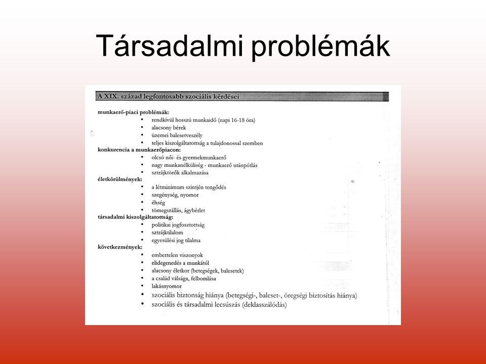 Társadalmi problémák