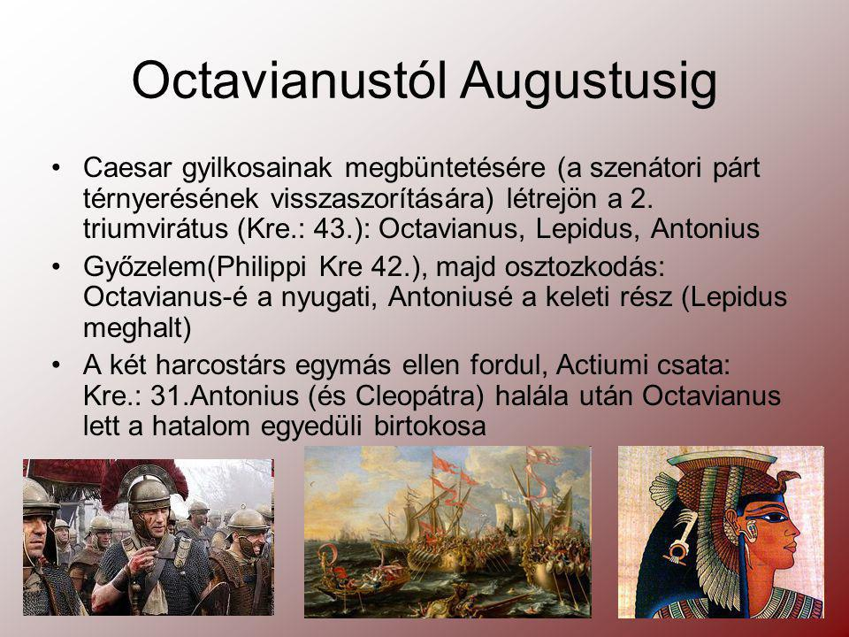 Octavianustól Augustusig
