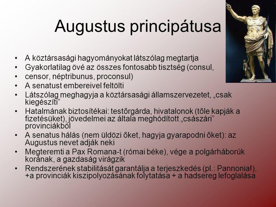 Augustus principátusa