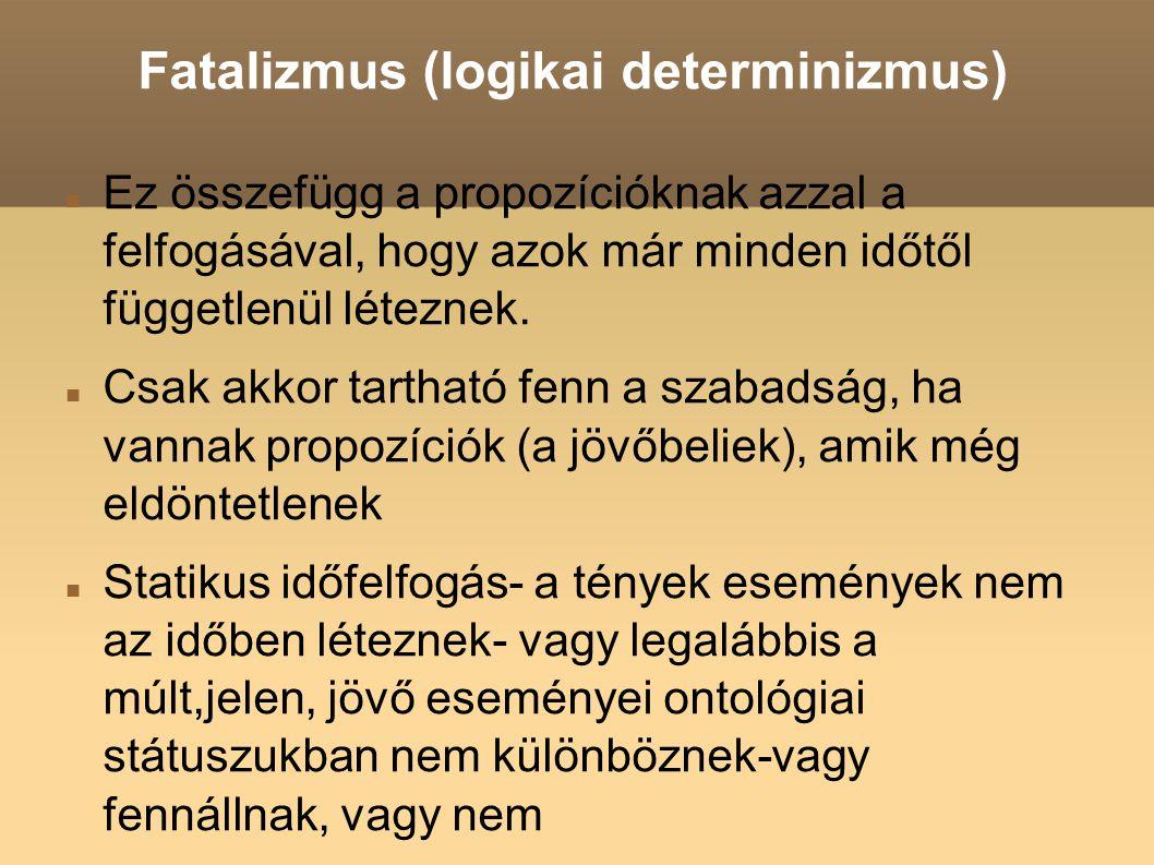 Fatalizmus (logikai determinizmus)