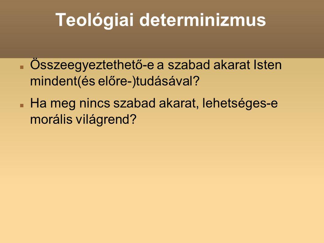 Teológiai determinizmus