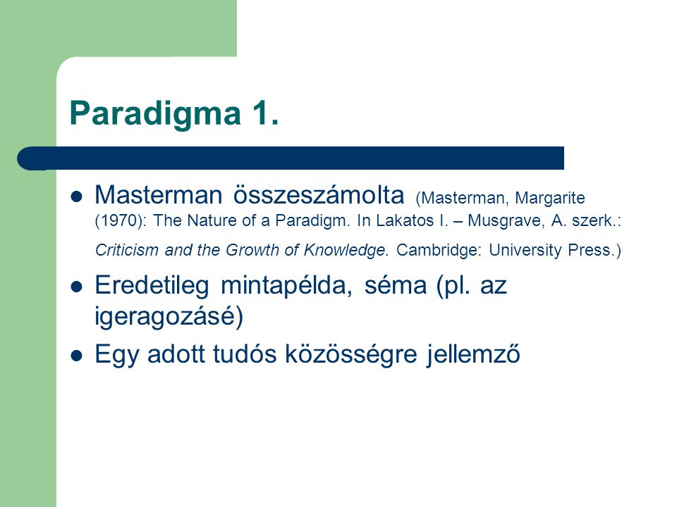 Paradigma 1.