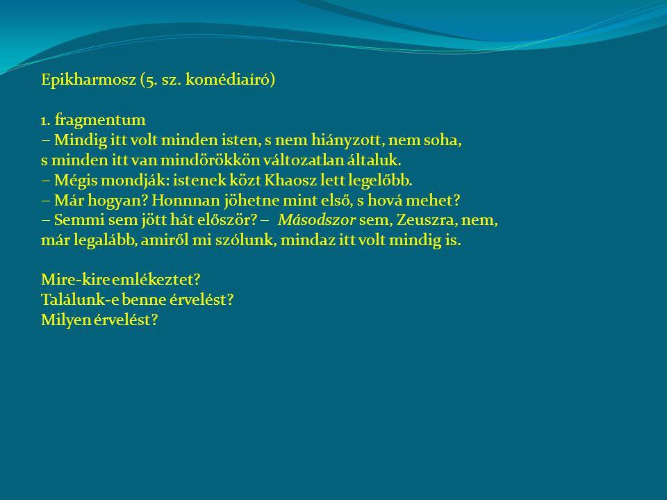Epikharmosz (5. sz. komédiaíró)