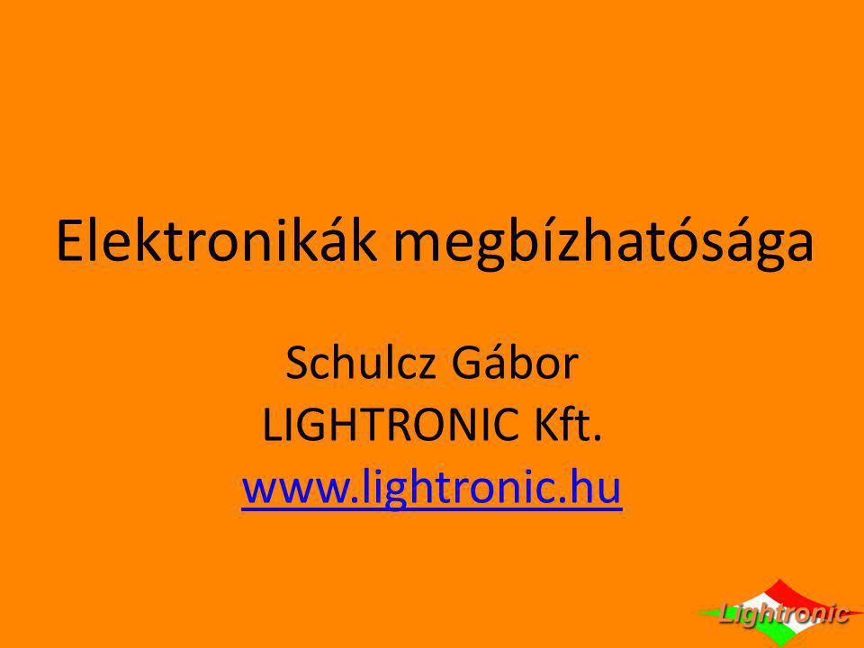 Elektronikák megbízhatósága