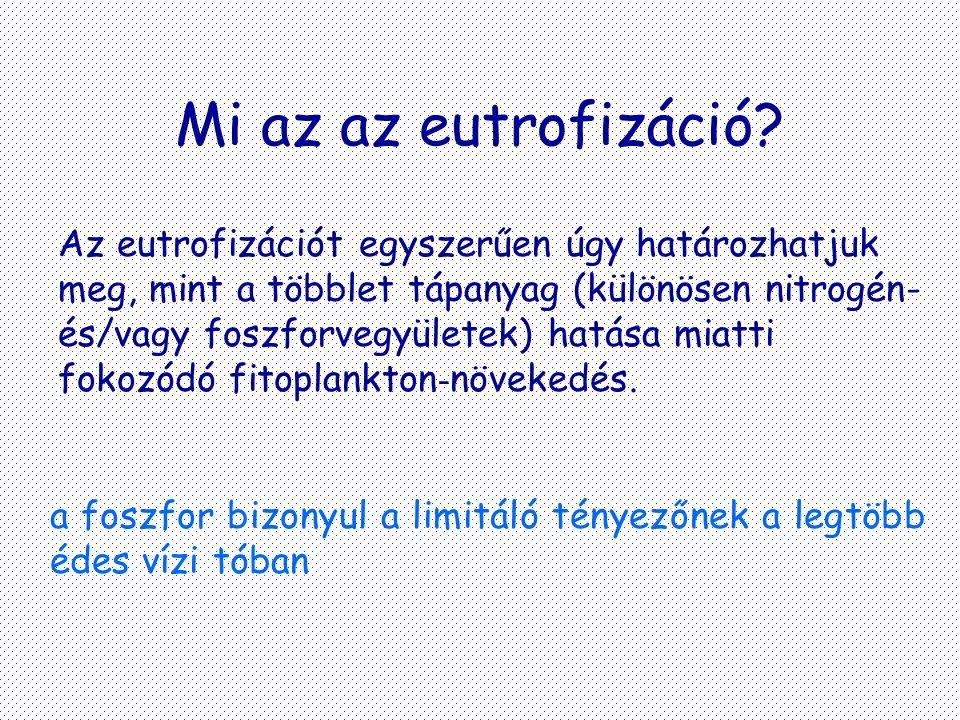 Mi az az eutrofizáció