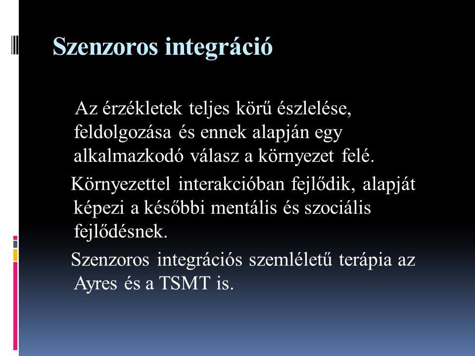Szenzoros integráció