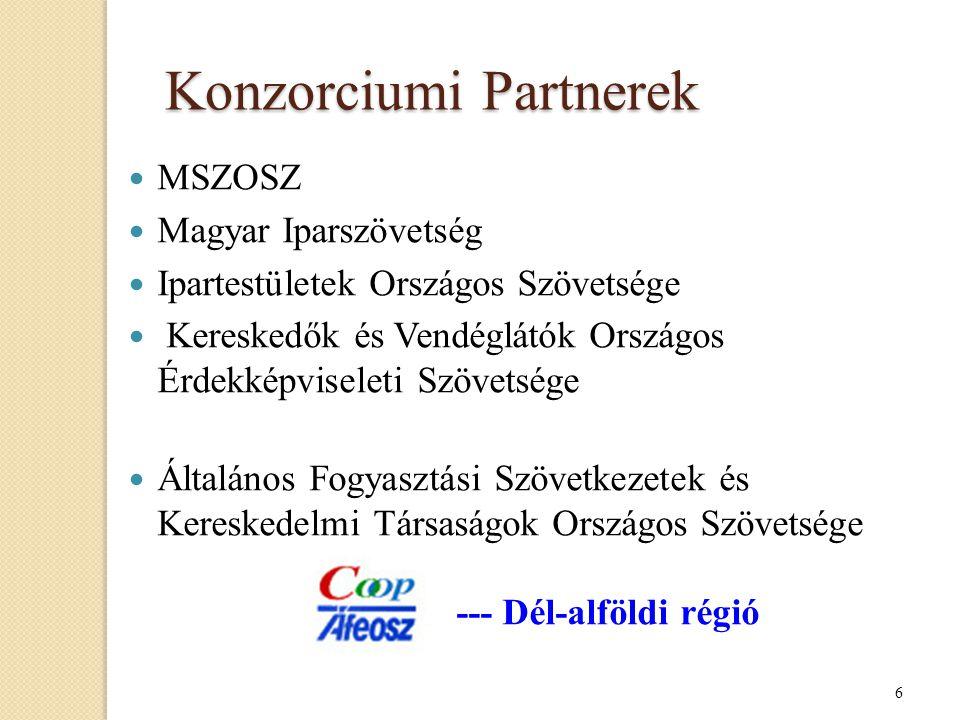 Konzorciumi Partnerek