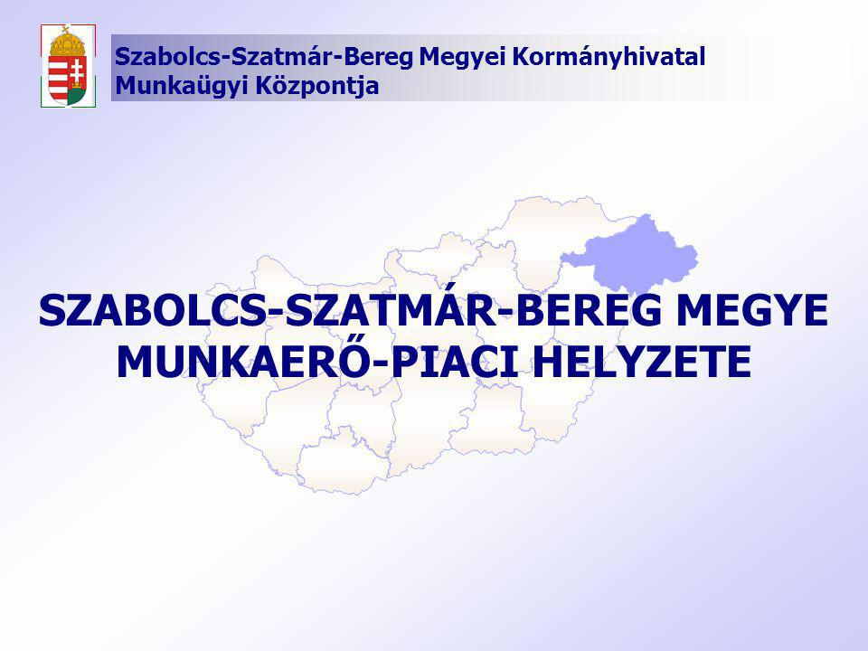 SZABOLCS-SZATMÁR-BEREG MEGYE MUNKAERŐ-PIACI HELYZETE
