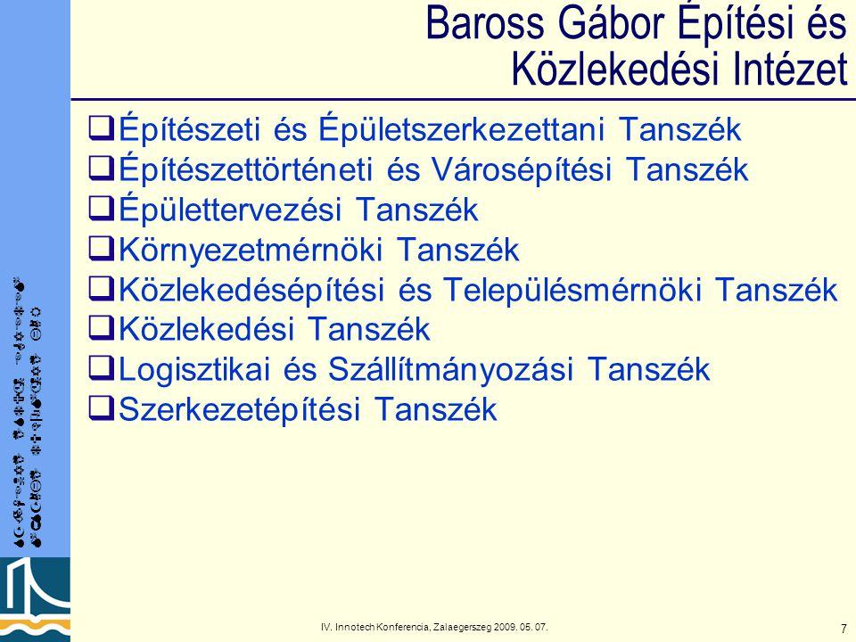 Baross Gábor Építési és Közlekedési Intézet