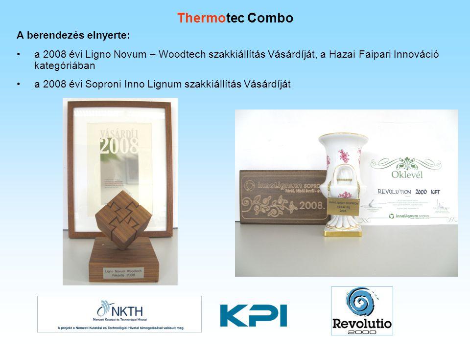 Thermotec Combo A berendezés elnyerte: