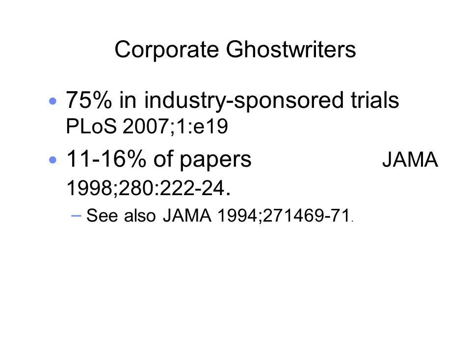 Corporate Ghostwriters