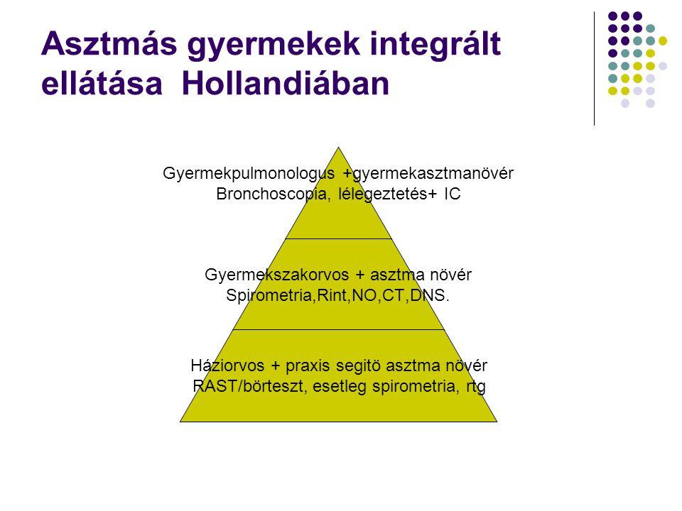 Asztmás gyermekek integrált ellátása Hollandiában