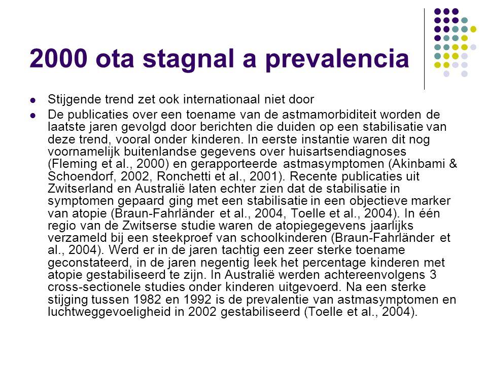 2000 ota stagnal a prevalencia