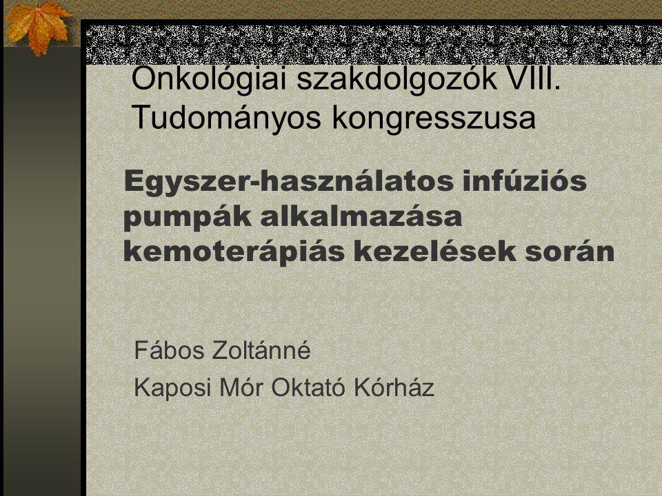 Onkológiai szakdolgozók VIII. Tudományos kongresszusa