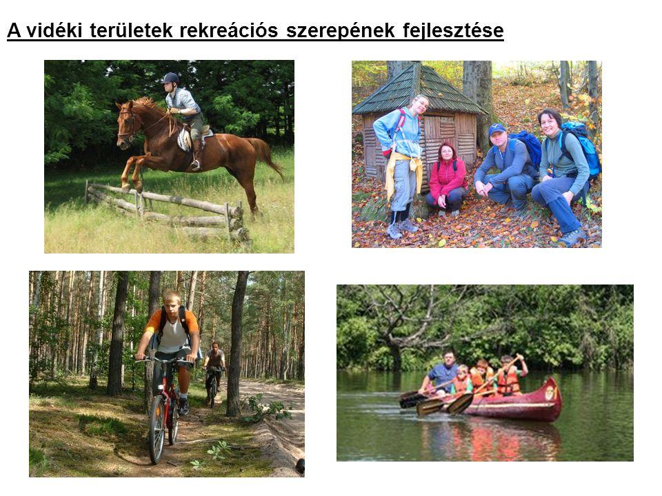 A vidéki területek rekreációs szerepének fejlesztése