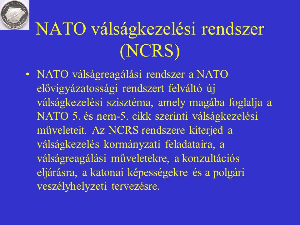 NATO válságkezelési rendszer (NCRS)